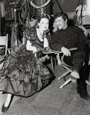 Judy Garland detrás de las cámaras