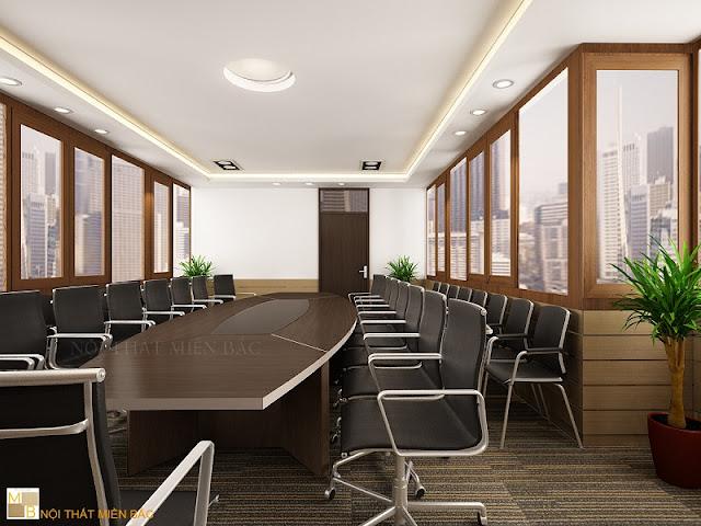 Thiết kế nội thất phòng họp đẹp với xu hướng kết cấu không gian mở - H2