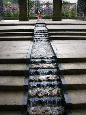 Juego de agua en el Jardín de Alnwick