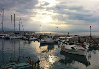 Loutraki sunset Greece Photo by Greeker than the Greeks