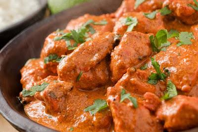 طريقة عمل الدجاج الهندي بالزبدة