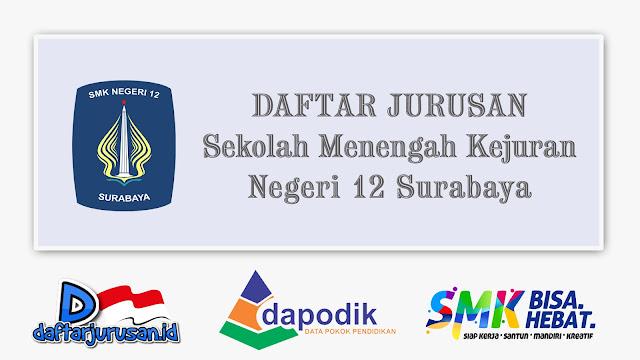 Daftar Jurusan SMK Negeri 12 Surabaya