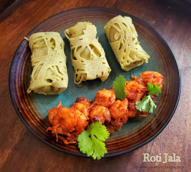 images of Roti Jala Recipe / Malaysian Net Crepes / Net Pancakes / Jala Roti Recipe / Net Pancakes Recipe