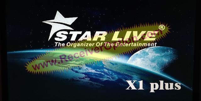 STAR LIVE X1 PLUS 1506TV 512 4M NEW SOFTWARE 02 NOVEMBER 2020