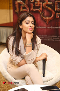 Shriya Saran Nandamuri Balakrishna at Gautamiputra Satakarni Team Press Meet Stills  0072