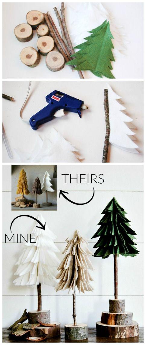 Cara Mudah Membuat Pohon Natal Sederhana Dari Kayu - CCM