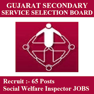 Gujarat Subordinate Service Selection Board, GSSSB, Gujarat, Graduation, Social Welfare Inspector, freejobalert, Sarkari Naukri, Latest Jobs, gsssb logo