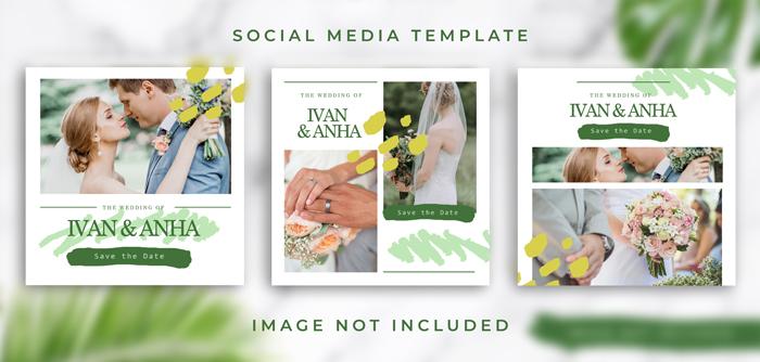 Wedding Flat Lay With Envelope Card Mockup v4