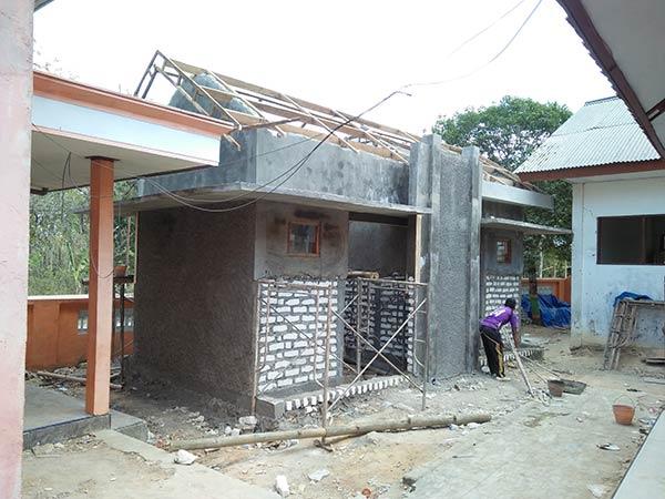 Pembangunan fisik Kamar Mandi / WC SDN Potoan Laok 1