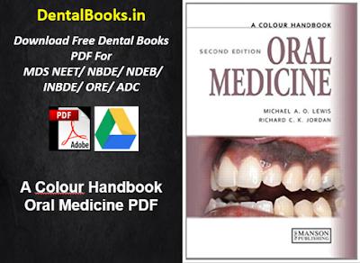 A Colour Handbook Oral Medicine PDF