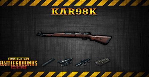 Kar98k có tầm bắn ba lô quát bạt ngàn được xem là tool tuyệt vời để bạn có thể kiểm soát một phần lớn của maps trong phiên bản đội nhóm deathmatch
