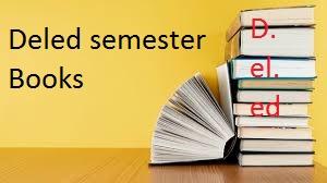 1st Semester d.el.ed Books