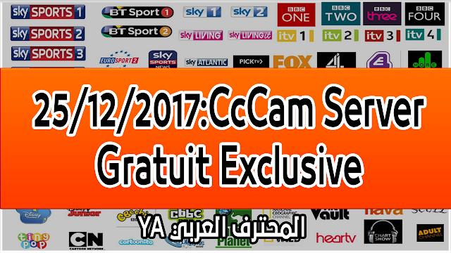 25/12/2017:CcCam Server Gratuit Exclusive