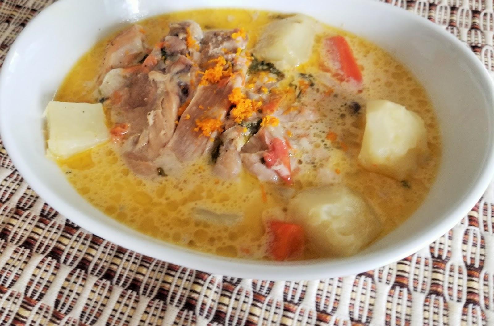 Receta De Pollo En Crema De Guatemala Recetas Con Sabor Latino