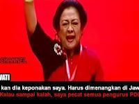 Janji Megawati: Gus Ipul - Puti Kalah, Semua Pengurus PDIP Saya Pecat!