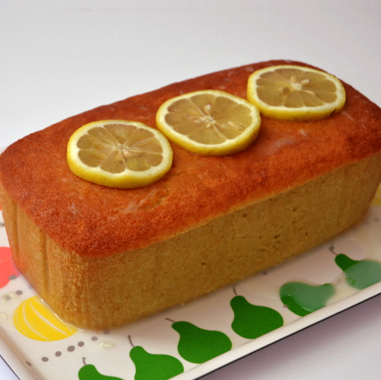 Light Pound Cake Loaf