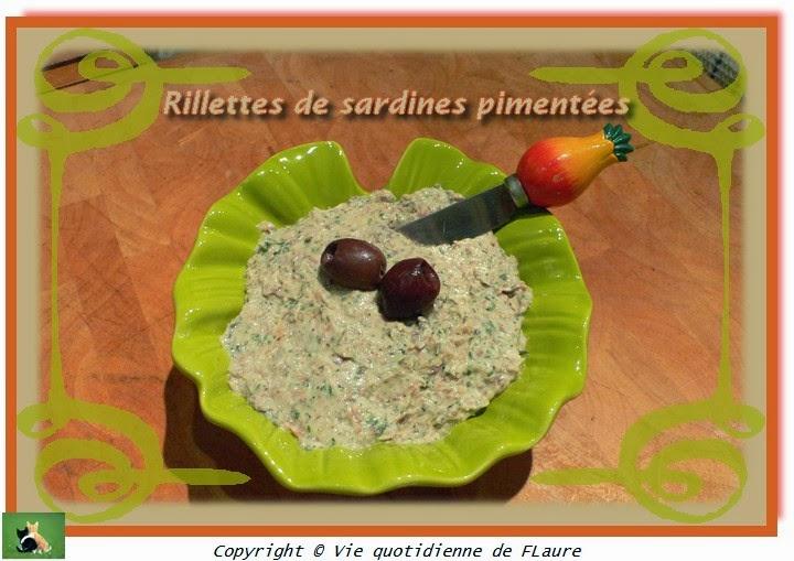 Vie quotidienne de FLaure: Rillettes de sardines pimentées