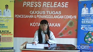 Press Release COVID-19 Tarakan 15 Juli 2020 - Tarakan Info