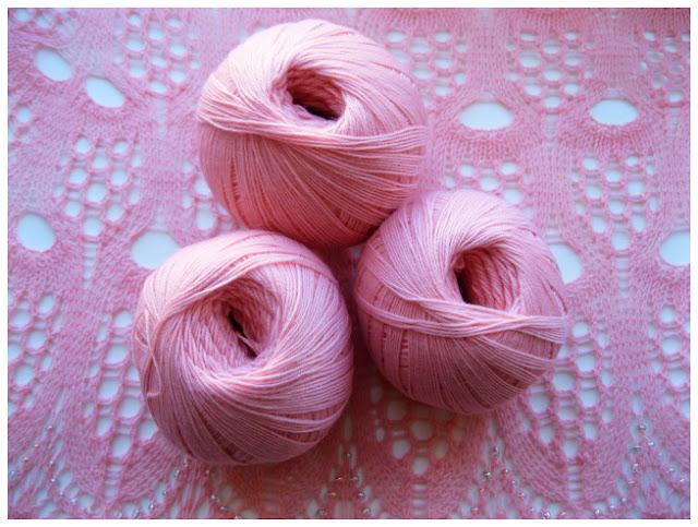 Мериносовая пряжа для вязания ажурной шали