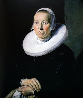 Frans Hals - Portrait d'une femme,1644