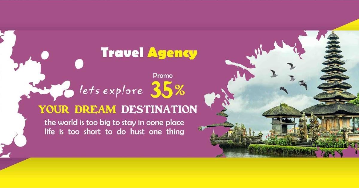 Membuat Desain Spanduk Travel Media Sosial di Corel Draw ...