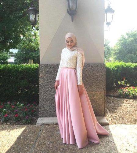 Wrinkled Dress Hijab Style.
