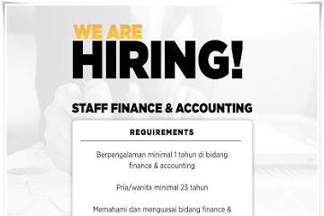 Lowongan Kerja Bandung Staff Finance & Accounting Foodizz.id
