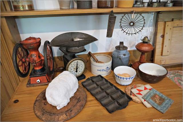 Cocina de la Casa de Harriet Beecher Stowe en Hartford