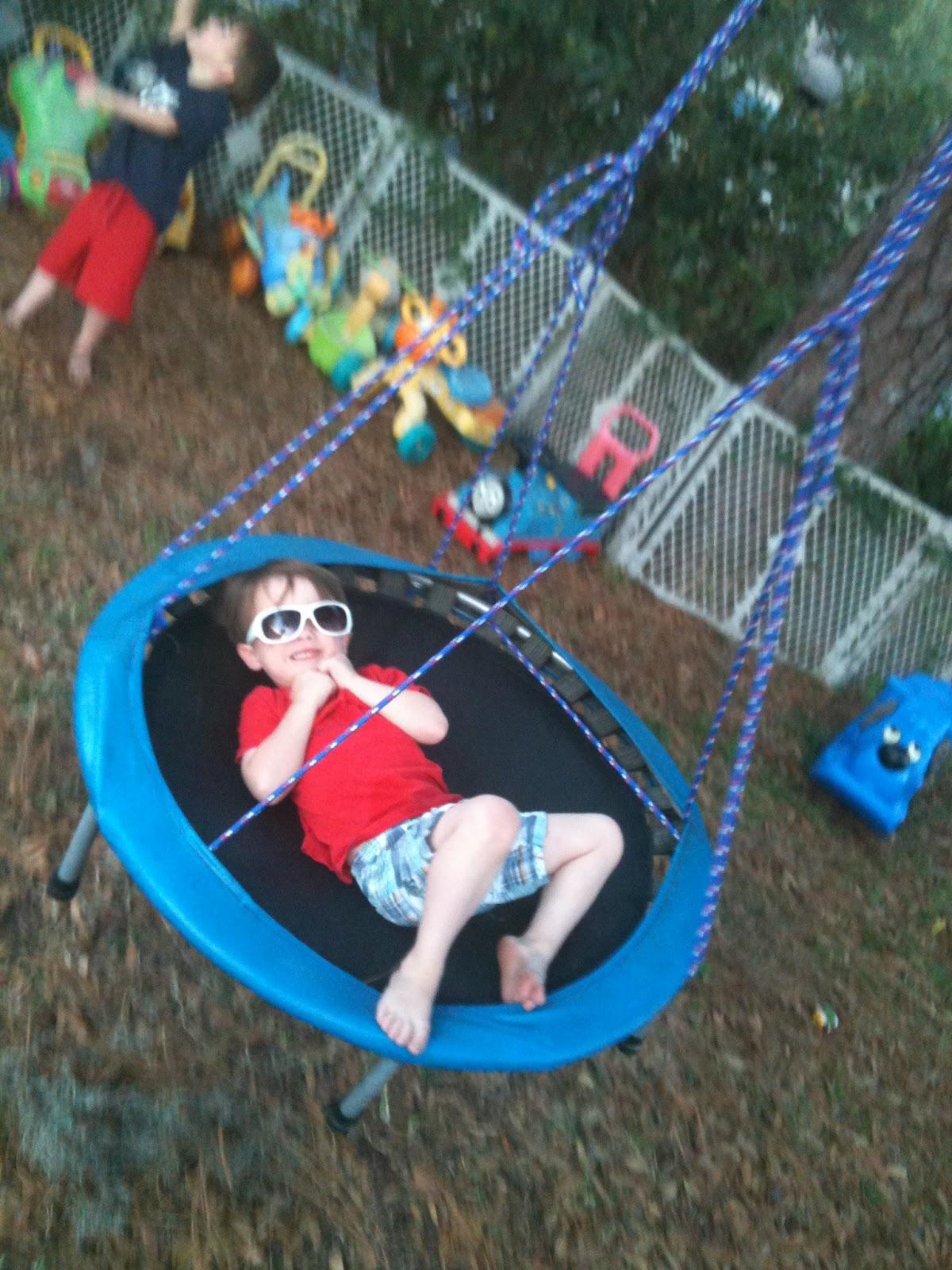 Trampo Swing Tarzan Swing Amp Backyard Play Environment