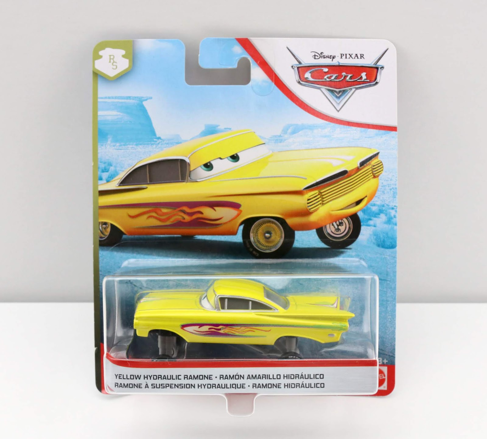 Cars: Yellow Hydraulic Ramone diecast review