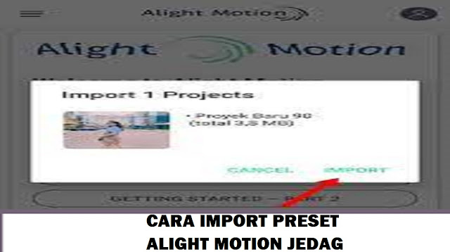 Preset Alight Motion Jedag Jedug