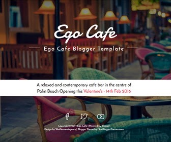 Ego Cafe Blogger Template