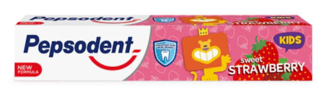 Pepsodent Pasta Gigi Anak Sweet Strawberry 50G