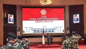22 Pati TNI Naik Pangkat
