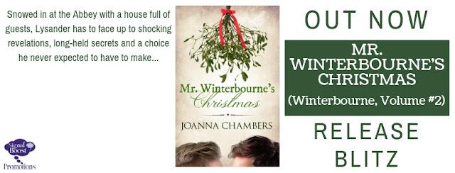 Release Blitz  - Joanna Chambers - Mr Winterbourne's Christmas