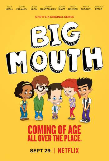 Big Mouth 1ª Temporada Torrent – WEB-DL 720p/1080p Dual Áudio
