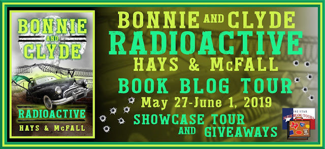 Bonnie and Clyde Radioactive tour banner