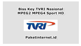 Update terbaru Biss Key TVRI Nasional Pada Hari ini