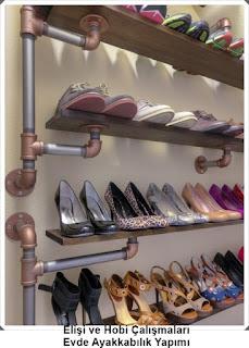 Dekorasyon - Ayakkabılık Modelleri 1