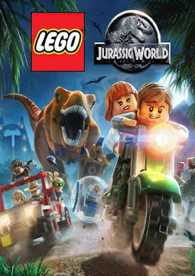 Capa do LEGO: Jurassic World
