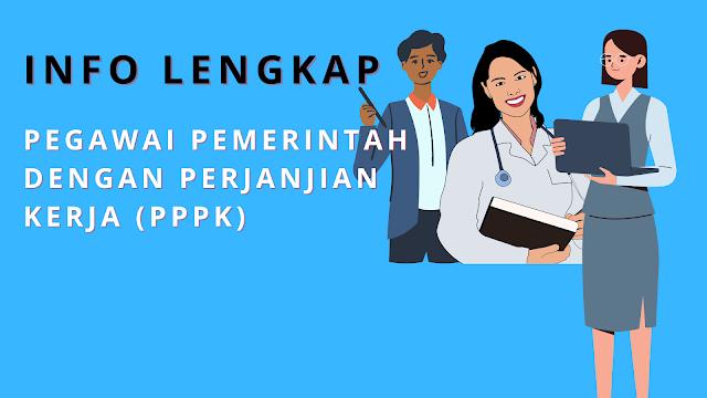 Info Lengkap Pegawai Pemerintah Dengan Perjanjian Kerja (PPPK)