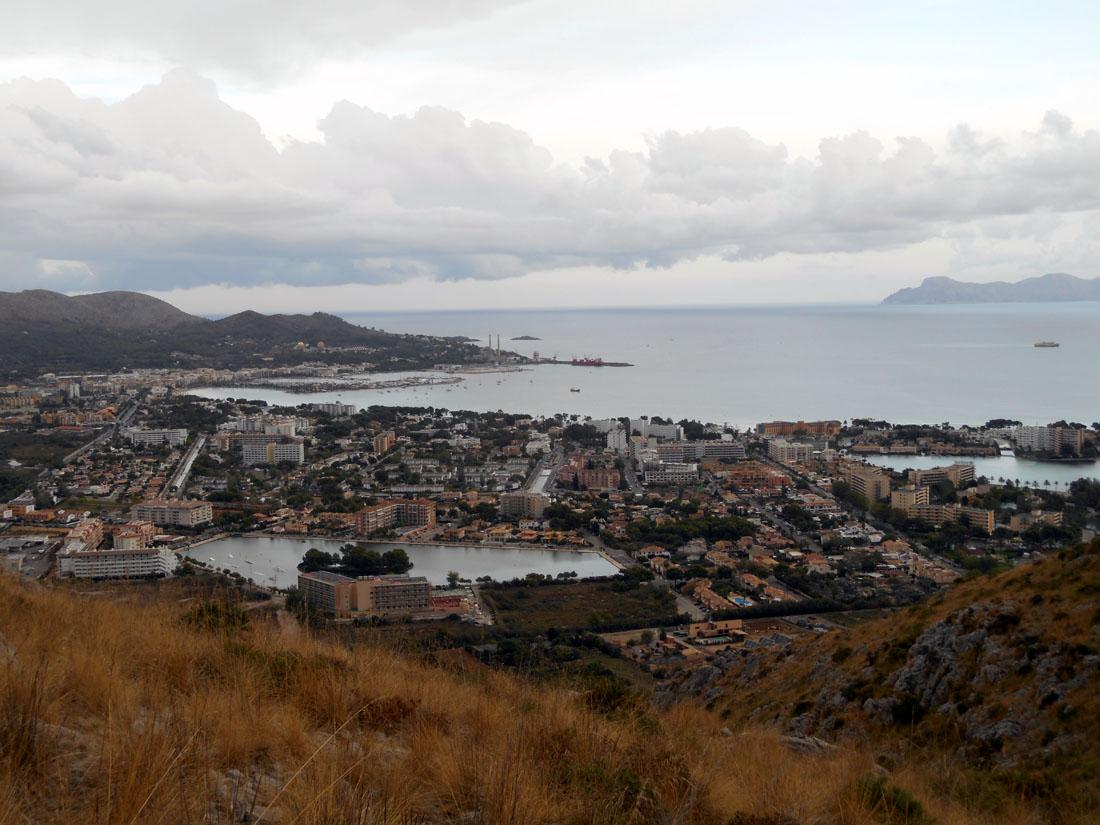 Port d'Alcudia da Puig De Sant Martí
