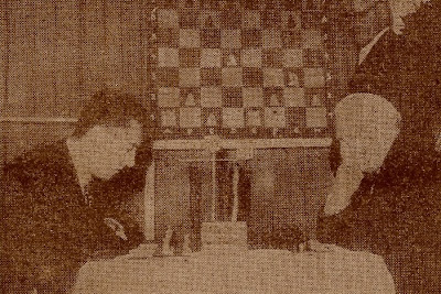 Partida de ajedrez Francisco Ballbé - Arthur Joseph Wijnans, 1954