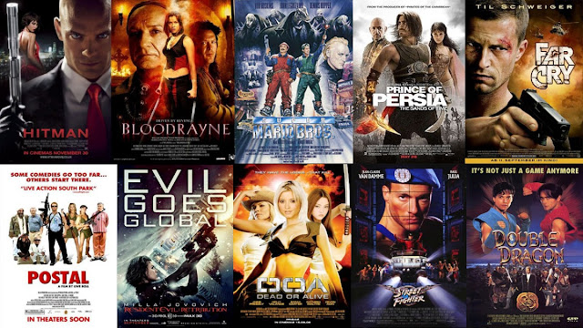Movies With Video Games