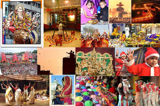 India is a land of diverse communities, religions, cultures and languages