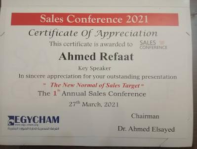 Sales Conference speaker 2021 Egypt