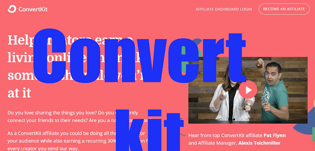 What is convertkit affiliate marketing how to use is