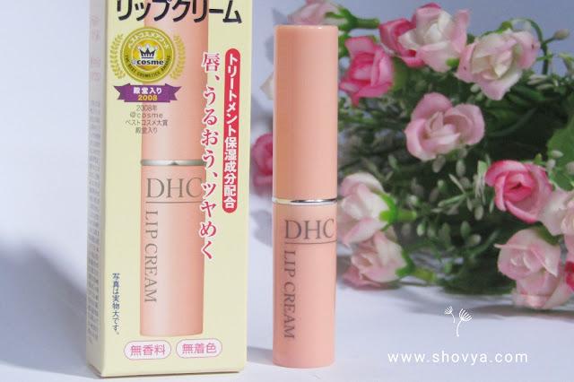 DHC Lip Cream dari Jepang Bikin Bibir Lembab dan Smooth