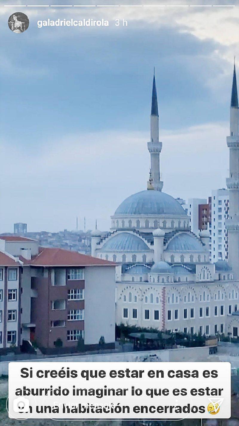 El encierro de Isla y Gala Caldirola en Estambul