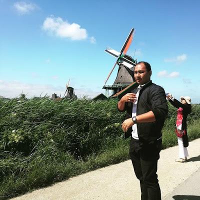 Zaanse Khans tengok kincir angin dulu dulu